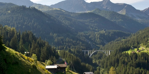 Viadukt Langwies