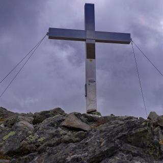 Gipfelkreuz des Grenzeckkopfes