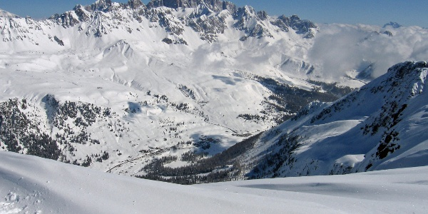 Panorama sulla Marmolada