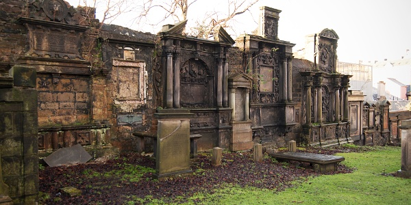 Graves on Greyfriars Kirkyard