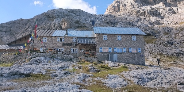 Rifugio Volpi al Mulaz, 2.560m