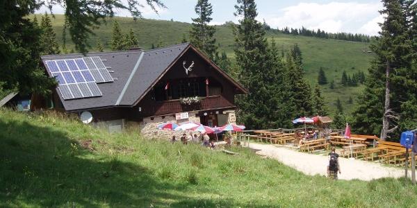 Saualpe - Offner Hütte 1668 m