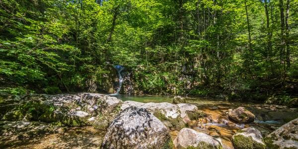 Wasserfallweg im Salzburger Saalachtal