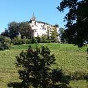 Blick auf Schloss Prösels