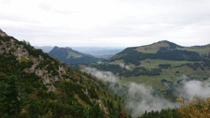 Richtung Aschau und Chiemsee