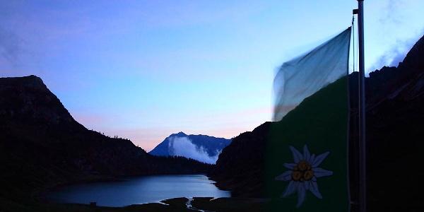 Tappenkarsee bei Sonnenuntergang