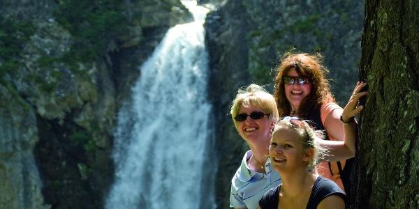 Gößnitzwasserfall - nicht der höchste, aber der mächtigste Wasserfall des Mölltals!