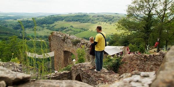 Ausblick von der Moschellandsburg
