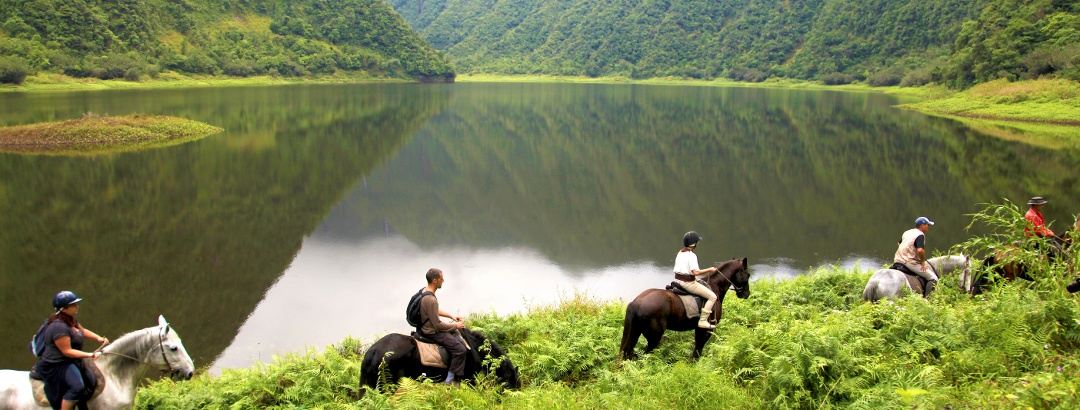 Grand Etang - La Réunion Pferdetour