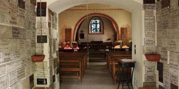 Weinfelder Kapelle - Innenraum
