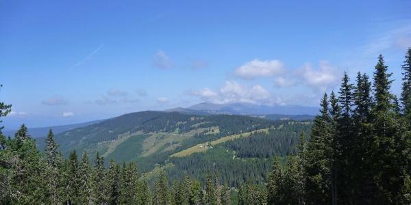 Klippitztörl-Blick zum Zirbitzkogel