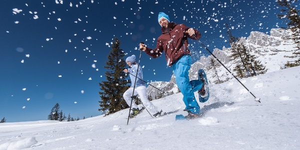 Salewa Schneeschuhweg