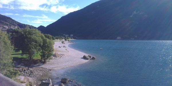 Spiaggia di Molveno.