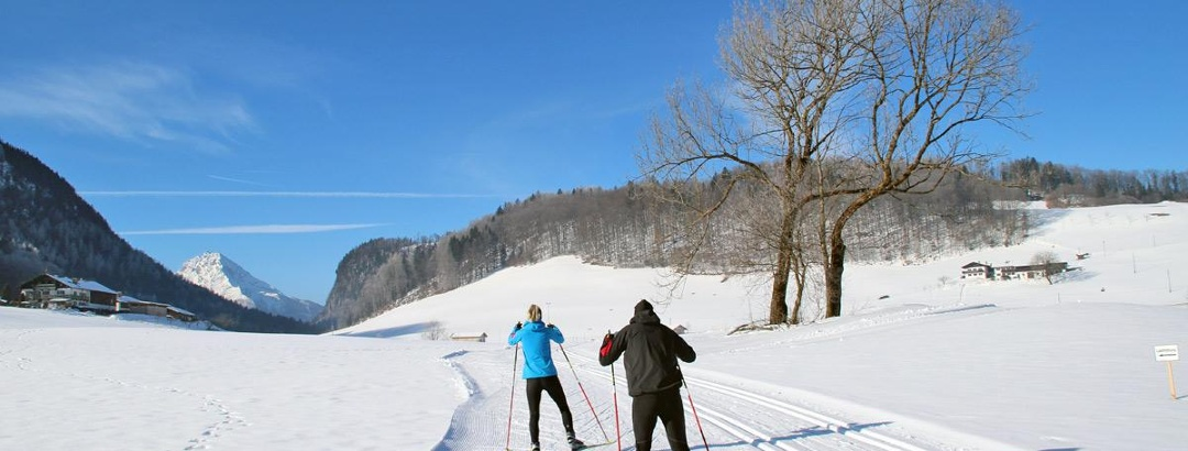 Langlaufen im Berchtesgadener Land