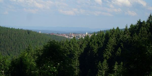 toller Blick Richtung Freudenstadt