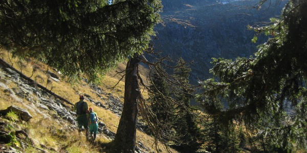 Ins Val La Buora hinein