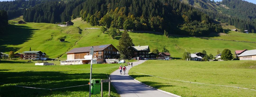 Zurück in Mittelberg