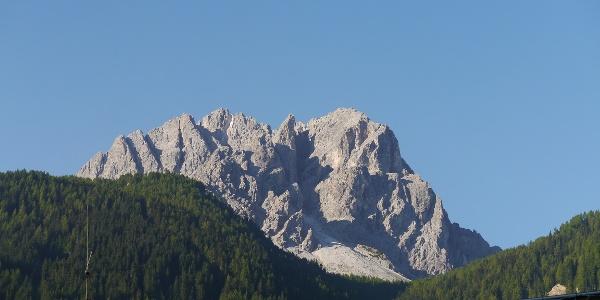 Blick auf die Rotwand vom Tal aus