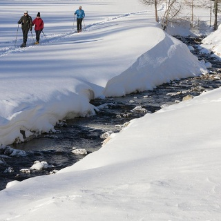 Snowshoe Hiking in Ultental
