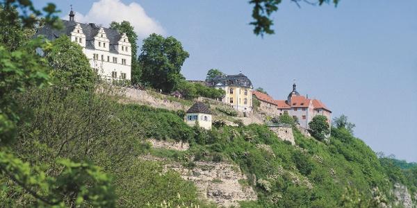 Panorama der Dornburger Schlösser