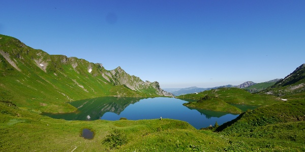 """View to the """"Schrecksee"""""""
