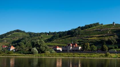 Sächsische Weinstrasse zwischen Meißen und Sörnewitz, Schwalbennest