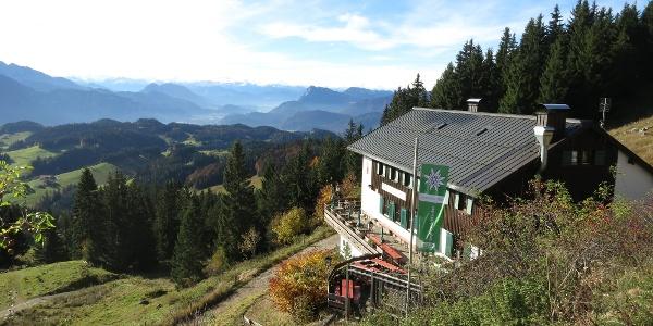 Spitzsteinhaus im Herbst