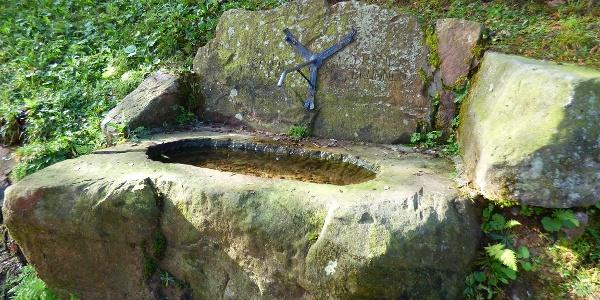 Der Brandbrunnen am Renchtalsteig