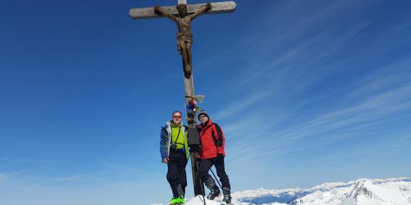 Gipfelkreuz Greim