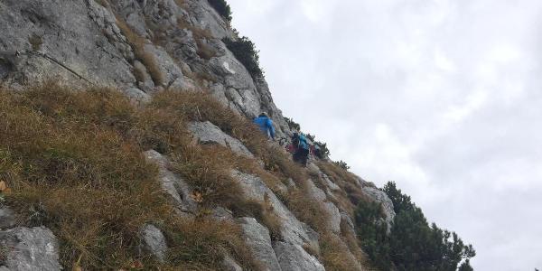 Der steile Pfad