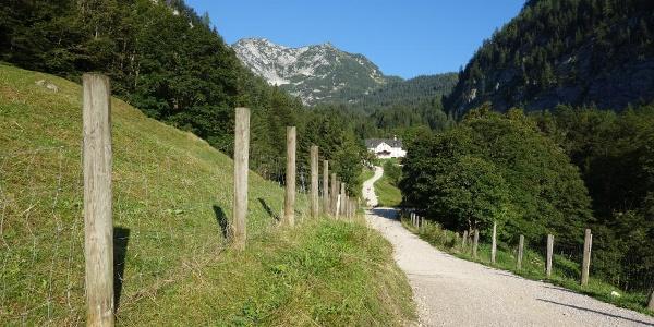 Das weite Hochtal am Salzberg