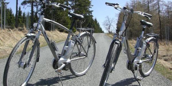 E-Bikes im Hotel gegen Gebühr