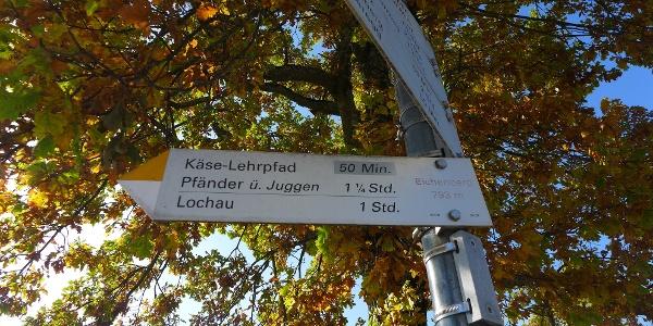 Startpunkt in Eichenberg