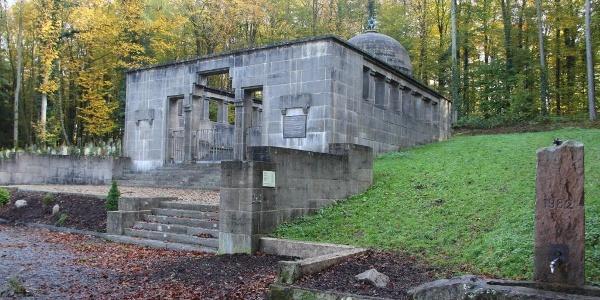 Mausoleum jüfischer Friedhof Waibstadt