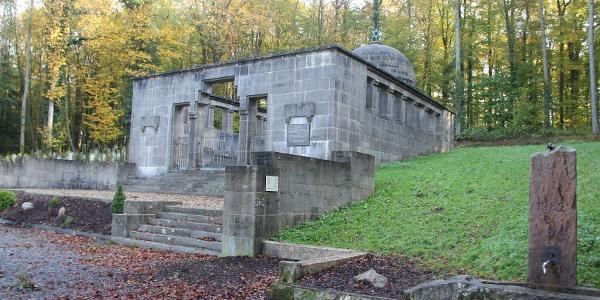 Mausoleum jüdischer Friedhof Waibstadt