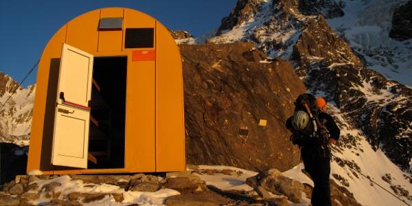 Das Günther Messner Biwak.