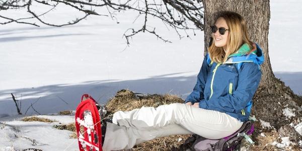 Schneeschuhtour in Tiers am Rosengarten