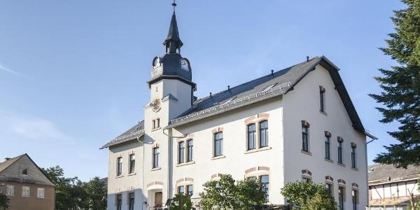 Hotel Turmschule Niederböhmersdorf Außenansicht