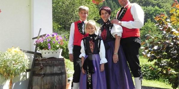 Familie Rudigier begrüßt sie Herzlichst