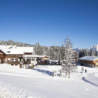 Bergblick im Winter