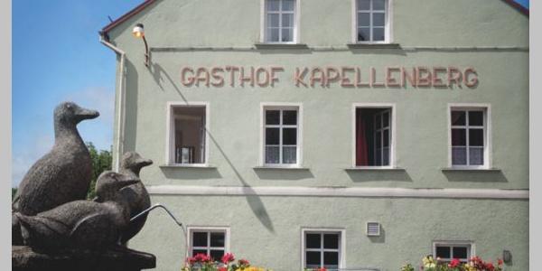 Außenansicht Gasthof Kapellenberg