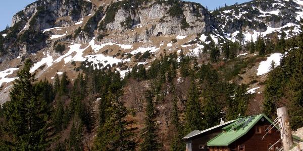 Steyrerhütte 1347m