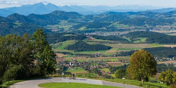 Mountenbiker Richtung Pontnig