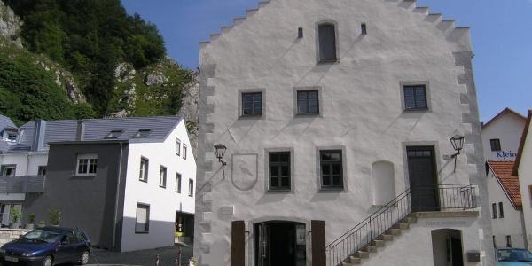 Historisches Rathaus in Essing im Altmühltal