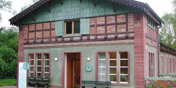 Gebäude der Rheinausstellung