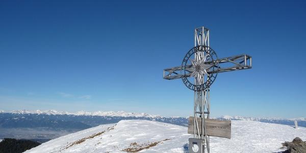 Gipfelkreuz am Rappoldkogel