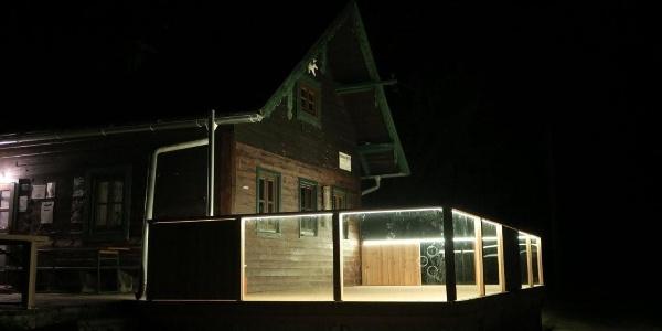 Neue Terrasse am Braunberg