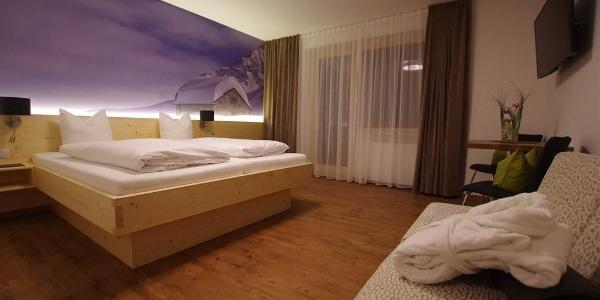 Doppel- oder Mehrbettzimmer