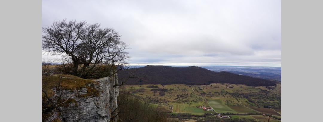 auf dem Breitenstein mit Blick zum Teckberg