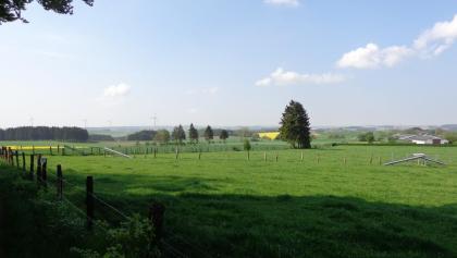 Herrliche Panoramablick